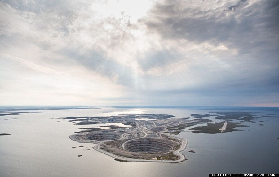 'A Massive Hole ... On An Island ... In A Lake.' Welcome To The Diavik Diamond