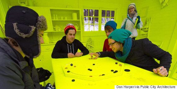 Crokicurl, The Uniquely Canadian Game Combining Crokinole And Curling, Debuts In
