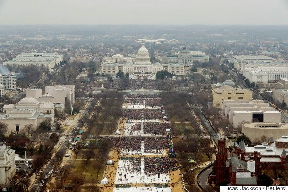 President Donald Trump Asked National Park Service To Back His Inauguration Crowd