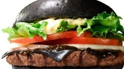 Yes, This Is A Black Burger. Yes, You Can Eat