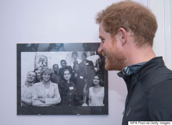Prince Harry Re-Creates 1995 Photo Of Princess