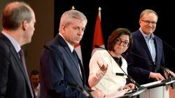 Candidates Invoke Layton, Not Mulcair, During 1st NDP