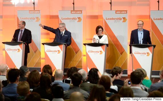 NDP Leadership Debate: Candidates Invoke Layton, Not Mulcair, During 1st