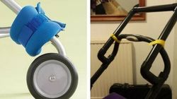 15 Genius Stroller Hacks For Your Baby's
