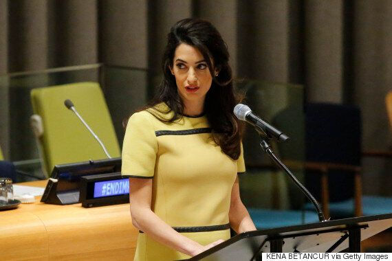 Time Magazine In Hot Water Over Tweet About Amal Clooney's Baby