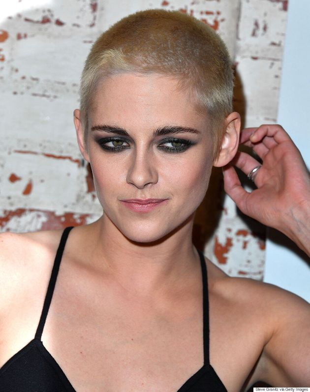 Kristen Stewart Explains Why She Shaved Her