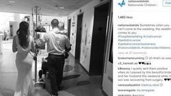 Couple Gets Married At Hospital To Be With Their Son With