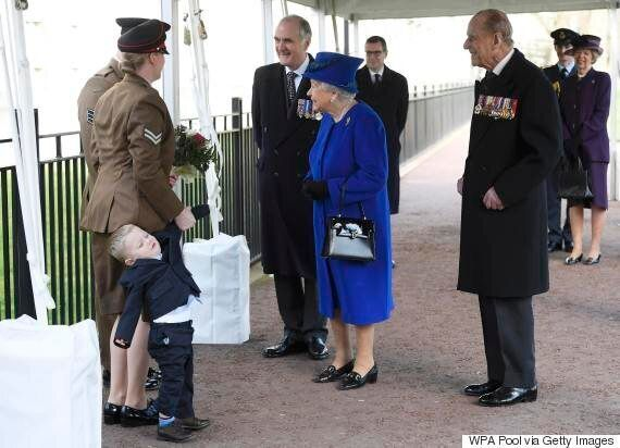 Toddler Throws A Tantrum While Meeting Queen