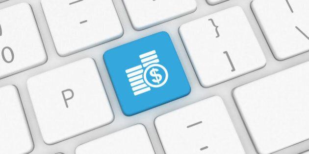 Internet banking loan computer
