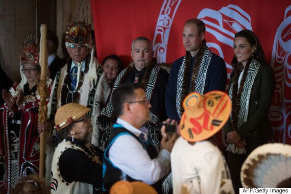 First Nations Leaders Use Royal Visit To Talk