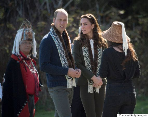 Royal Tour 2016: Royals Spend A Day Touring Haida Gwaii,