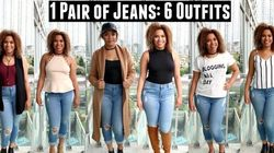 How To Style 1 Pair Of Jeans 6 Ways For