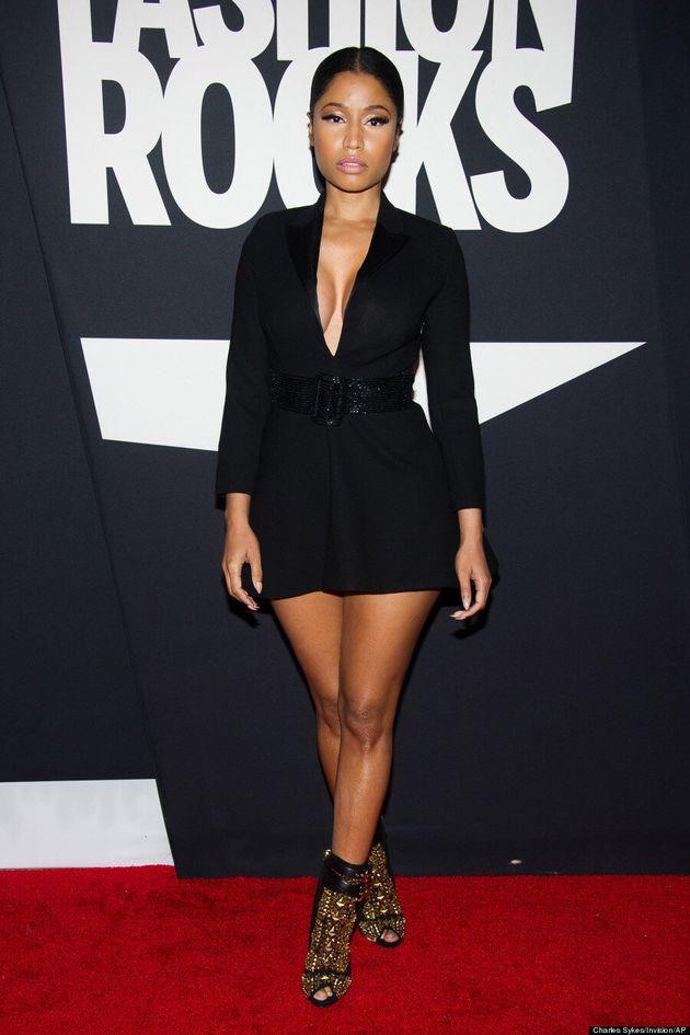 Nicki Minaj's Black Dress Is Anything But