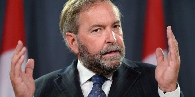 Mulcair Likens Trudeau To Harper In Major Speech To