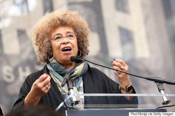 Angela Davis, Civil Rights Activist, Calls For 'Resistance' In The Age Of
