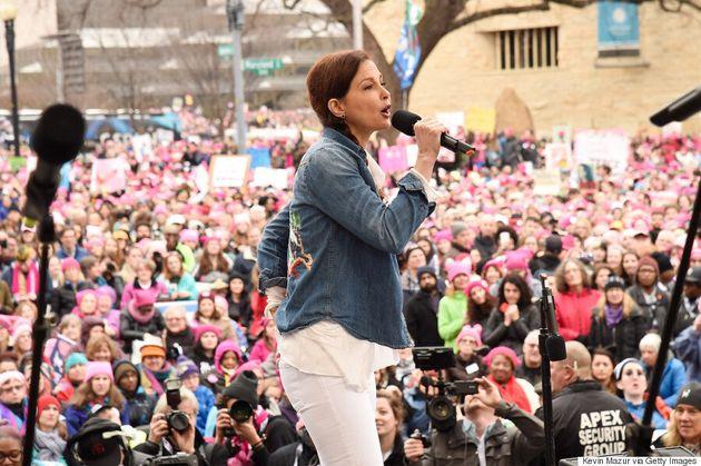 Ashley Judd's Women's March Speech Was Written By A 19-Year-Old