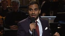 Aziz Ansari Uses Historic 'SNL' Gig To Slam 'Lowercase