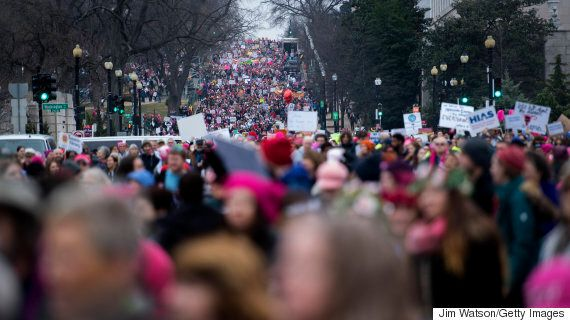 'Sisters Of The North' Descend On Washington For Women's