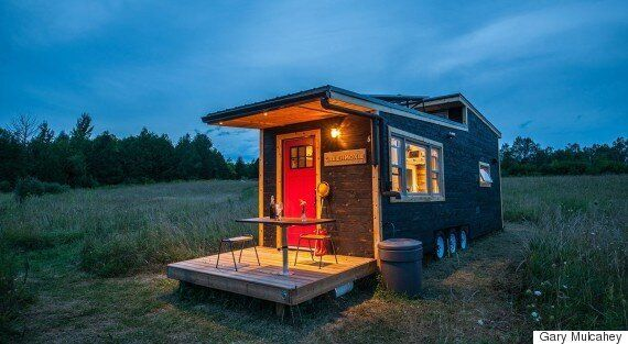 We Built A Tiny House To Live Sustainably Off The Grid Huffpost Canada Life
