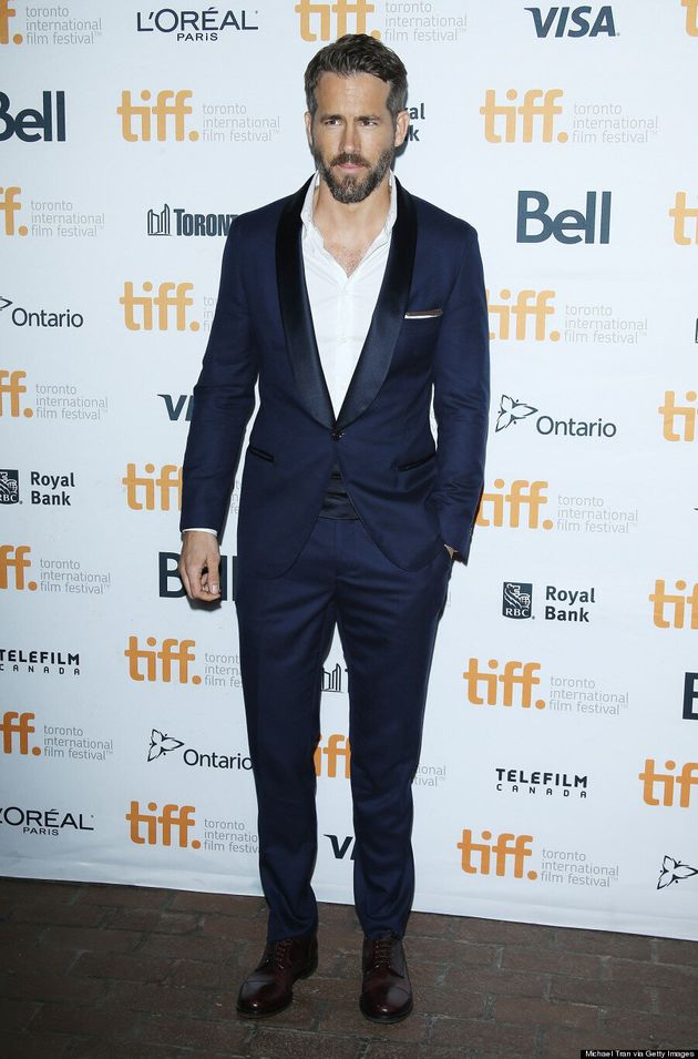 Ryan Reynolds TIFF 2014: Blake Lively's Hubby Cleans Up