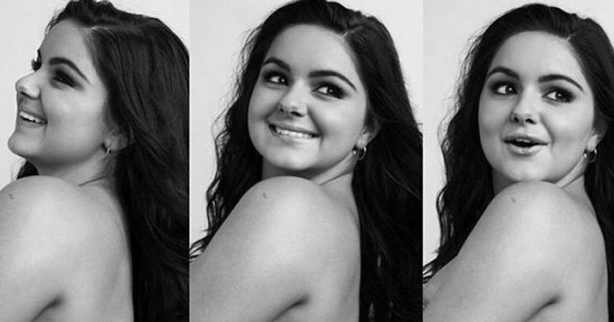 Ariel Winter Poses Topless In Unretouched Photos And Talks -8733