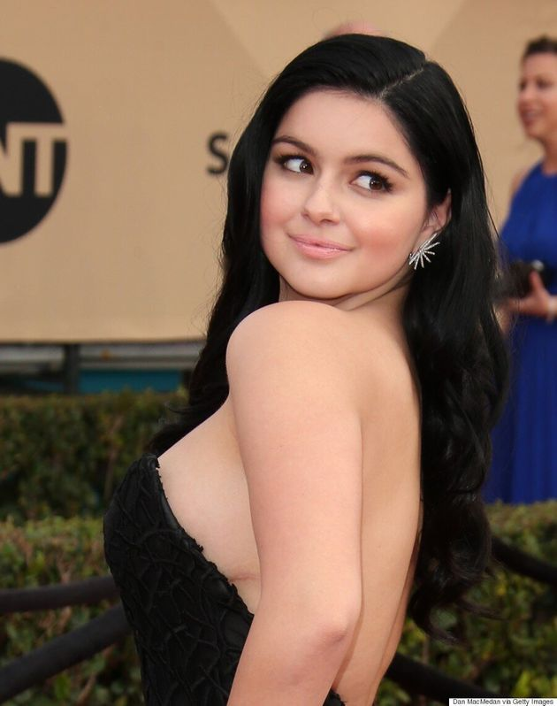 Ariel Winter Poses Topless In Unretouched Photos And Talks Body