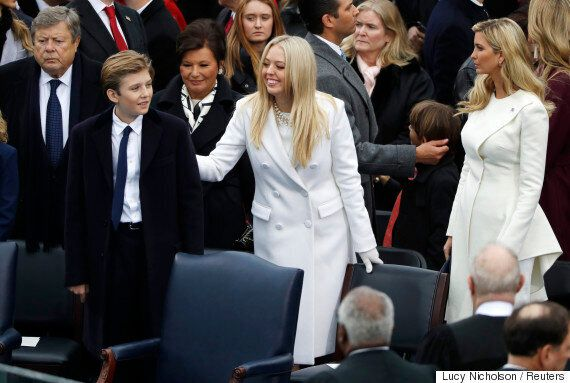 Barron Trump Reappeared To Watch Dad Become