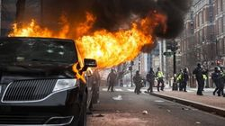 Hundreds Arrested For Rioting As Tensions Flare In