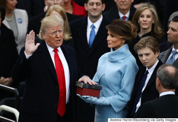 Donald Trump Sworn In As 45th President Of The United