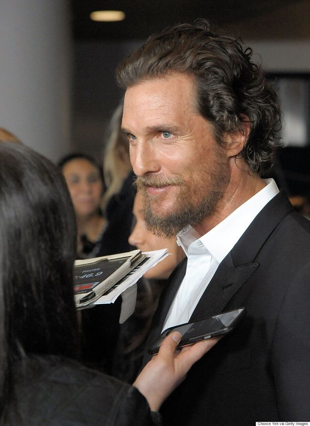 Matthew McConaughey Says He Was Balding In The '90s Until He Found A Miracle