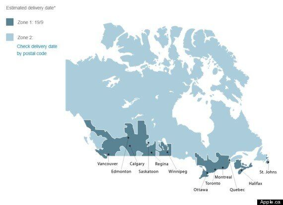 Apple's Map Of Canada Is Hilariously