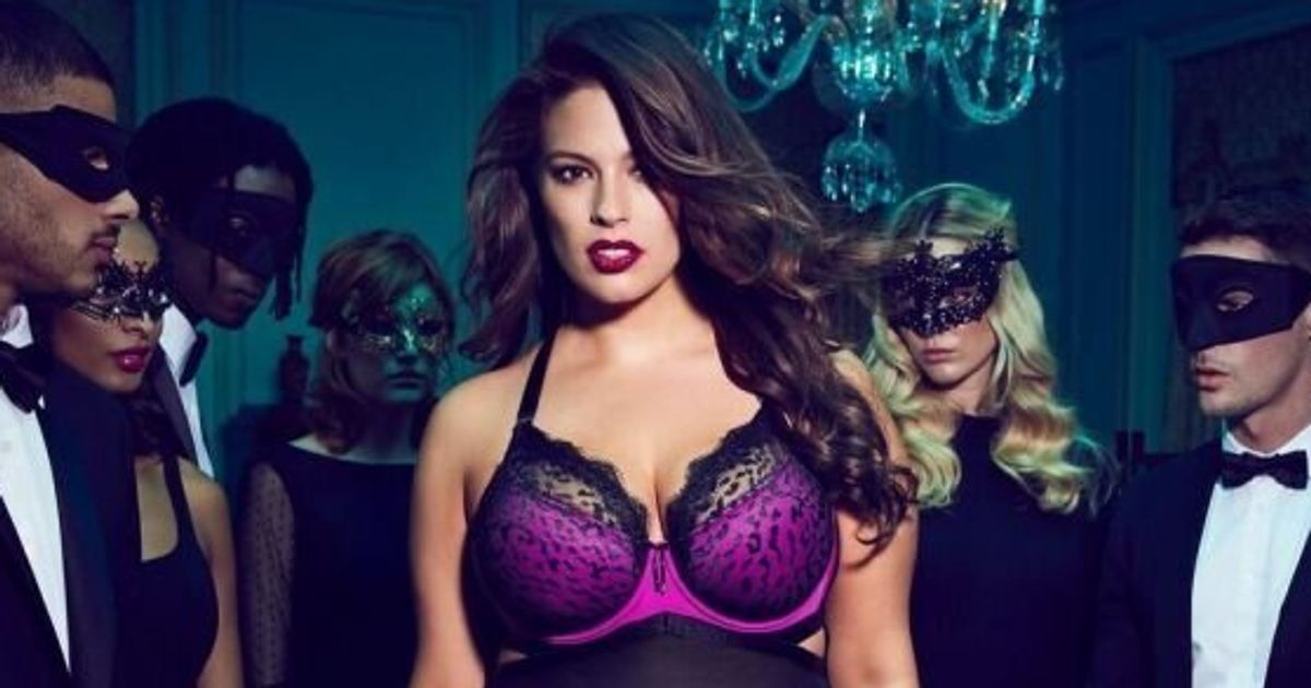 0a335bf96 Ashley Graham Seduces In Dark Beauty Collection For Addition Elle ...