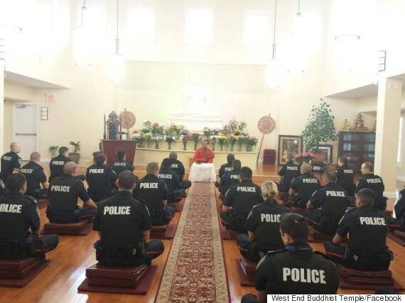 Meanwhile In Canada, Peel Regional Officers Meditate In A