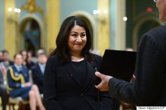 Maryam Monsef, Asked About Trump, Says It's 'An Important Time For