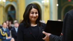 Monsef Asked About Trump's Views On