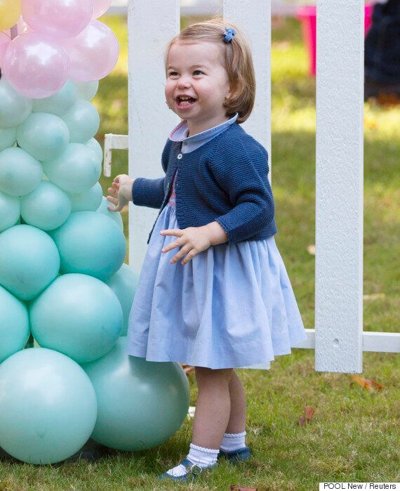 Princess Charlotte Walking And Talking Is Absolutely