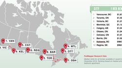 Rents In Canada's Priciest Cities Rise At Breakneck