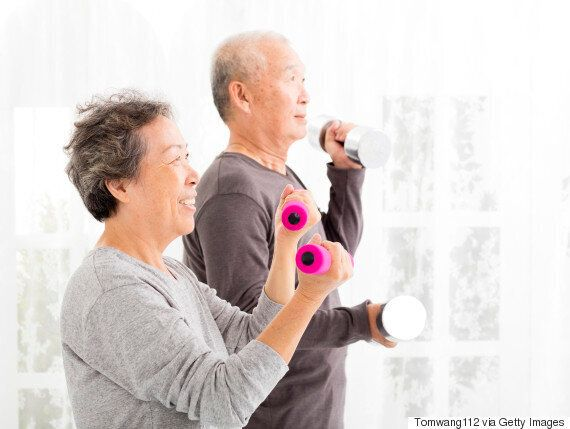 Exercise Can Help Delay