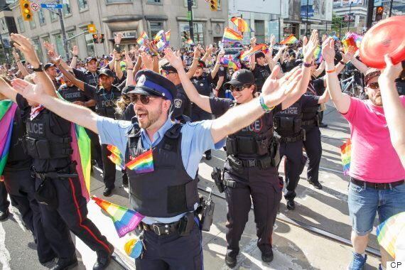 Pride Toronto Votes To Remove Police Floats From