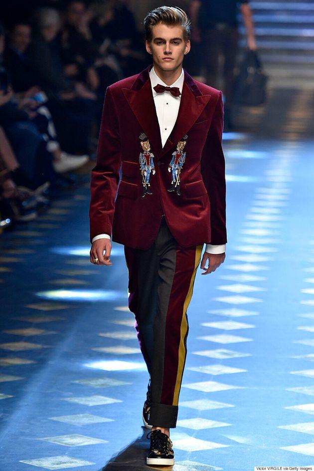 Bob Dylan's Grandson, Levi Dylan, Makes His Runway Debut At Milan Men's Fashion