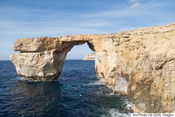 Azure Window, Malta's Natural Rock Arch, Has