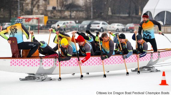 Ice Dragon Boat Festival Comes To Ottawa In North American