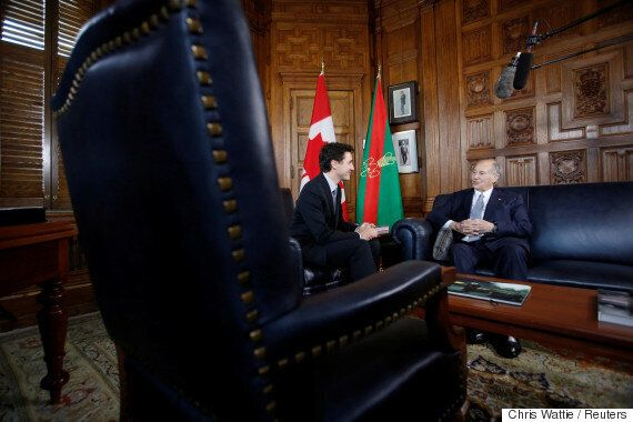 The PM Visiting The Aga Khan Is Much Trudeau About