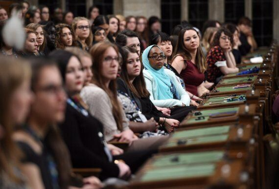 International Women's Day: 338 Young Women Took Over Canada's Parliament And It Was