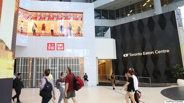 Uniqlo Comes To Canada: A Look At The Japanese Retailer's Toronto Eaton Centre