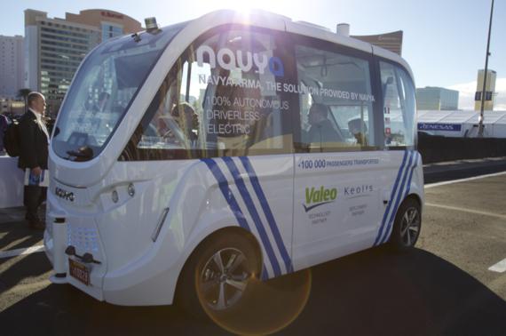 CES 2017: My Driverless Car