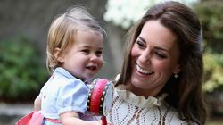 Somehow, Kate Middleton Kept This White Dress Clean At A Kids'