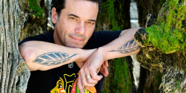 SAINT MALO, FRANCE - JUNE 7:  American writer Joseph Boyden poses during portrait session held on June 7, 2014 in Saint Malo, France. (Photo by Ulf Andersen/Getty Images)