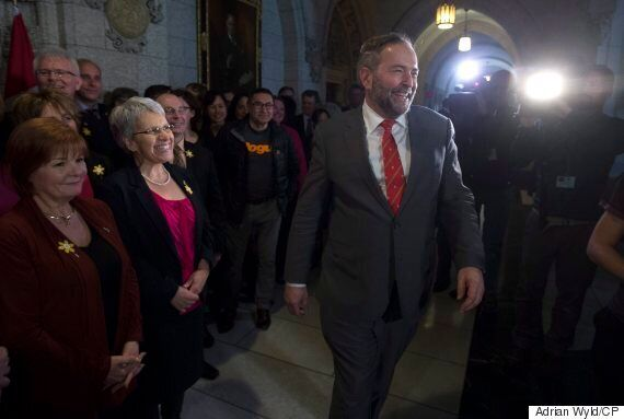 Thomas Mulcair Says NDP Caucus Wants Him To Stay On As Leader For