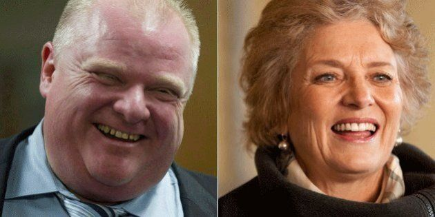 Margaret Trudeau Calls Rob Ford 'Courageous' For Seeking